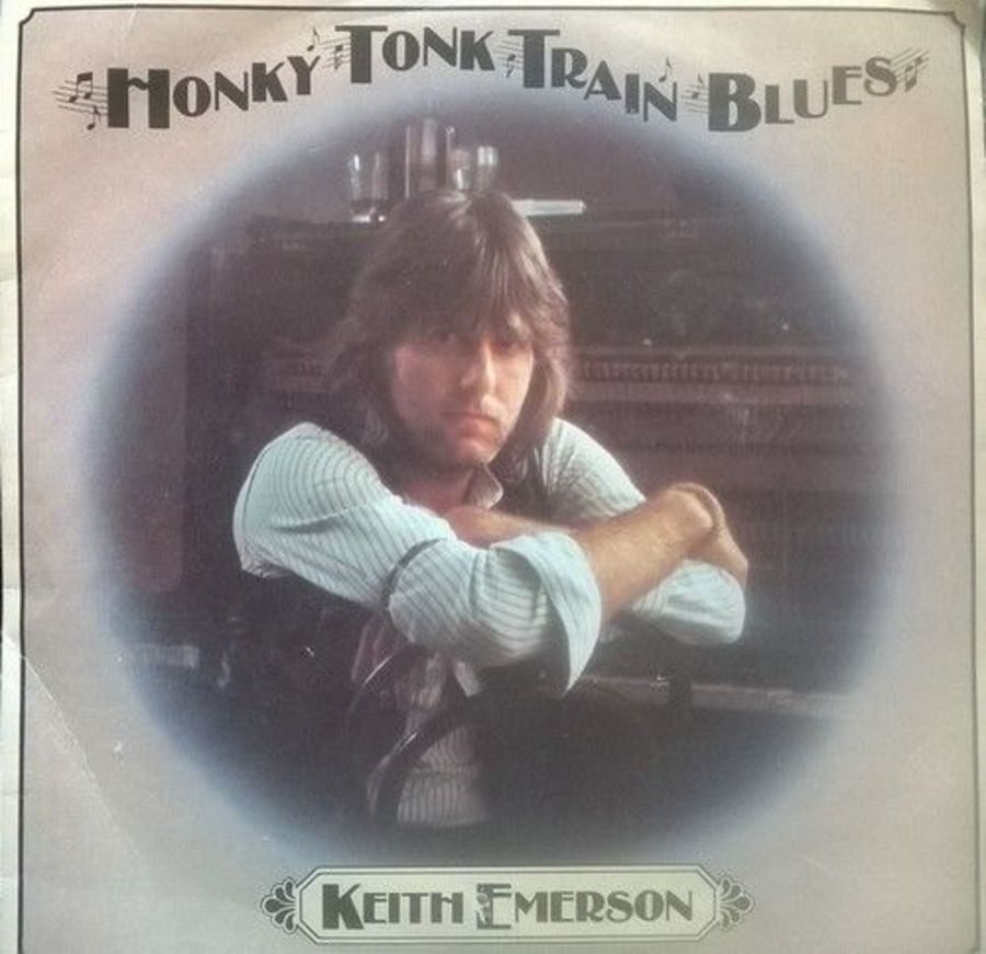 Keith Emerson - Honky Tonk Train Blues - Vinyl Record 7