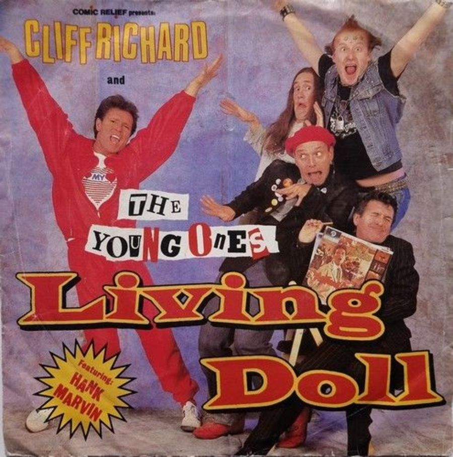 Cliff Richard & The Young Ones - Living Doll - Vinyl Record 7