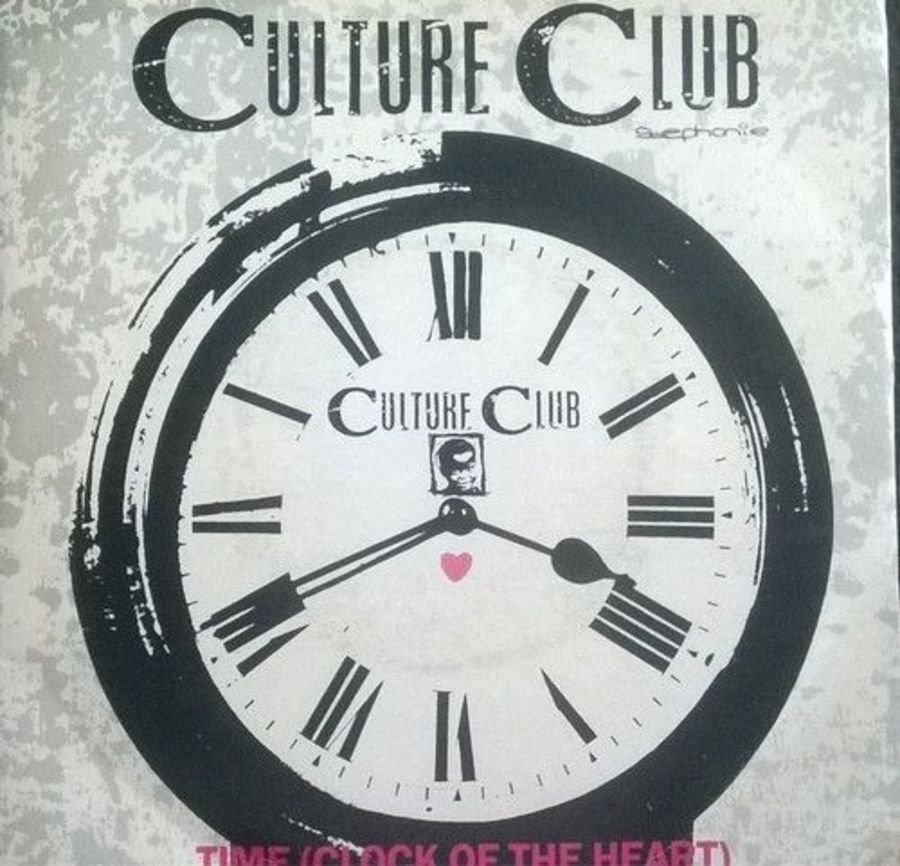 Culture Club - Time ( Clock Of The Heart ) - Vinyl Record 7