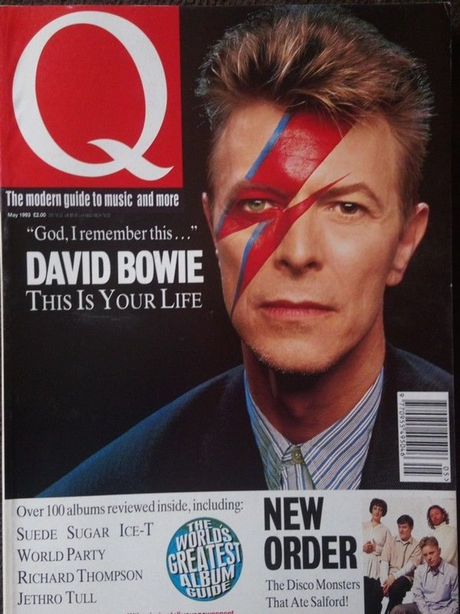 Q MAGAZINE 80 May 1993 - DAVID BOWIE/SUEDE/JETHRO TULL/NEW ORDER