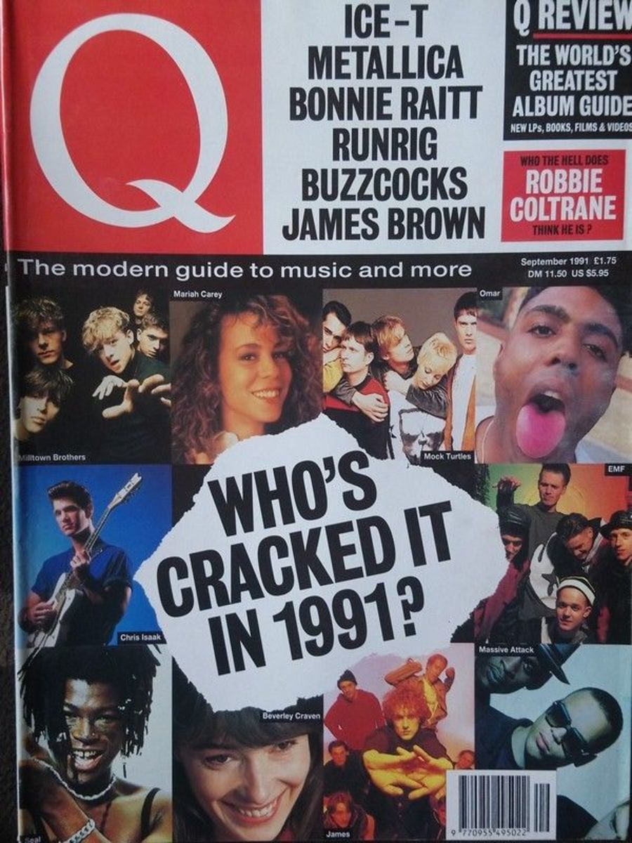 Q Magazine September 1991- Ice-T - Metallica - Bonnie Raitt - Buzzcocks