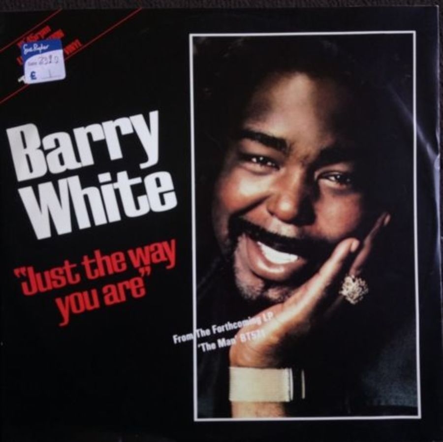 Barry White - Just The Way You Are - White Vinyl - 12