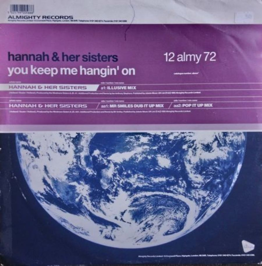 Hannah & Her Sisters - You Keep Me Hangin' On - 12