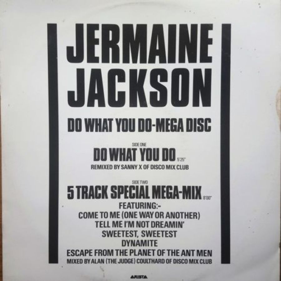 Jermaine Jackson - Do What You Do Mega Disc - 12