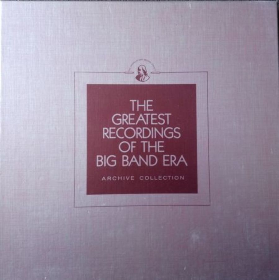 Greatest Recordings Of The Big Band Era - Franklin Mint Red Vinyl 21/22/23/24