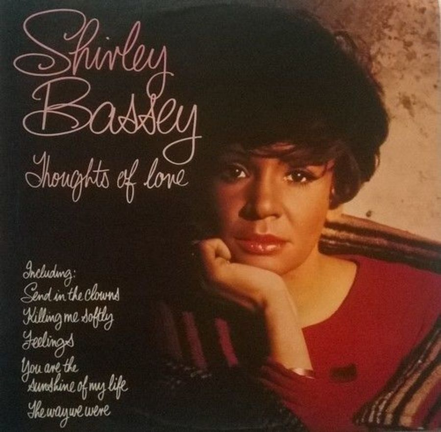 SHIRLEY BASSEY - Thoughts Of Love - LP Vinyl Record Album United Artists 1976