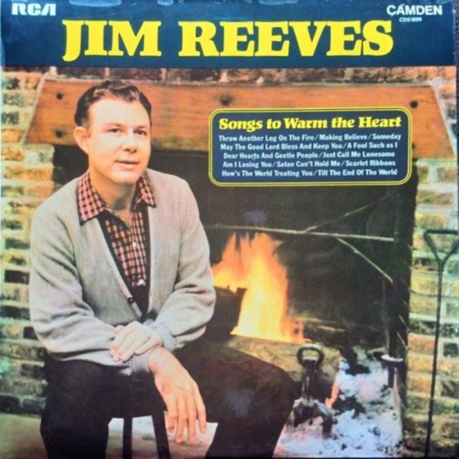 Jim Reeves - Songs To Warm The Heart - Vinyl Record Album