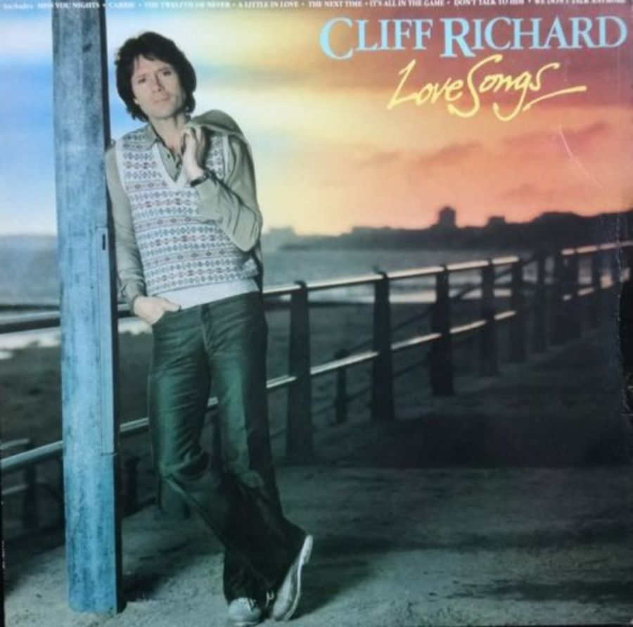 Cliff Richard - Love Songs - Vinyl Record Album