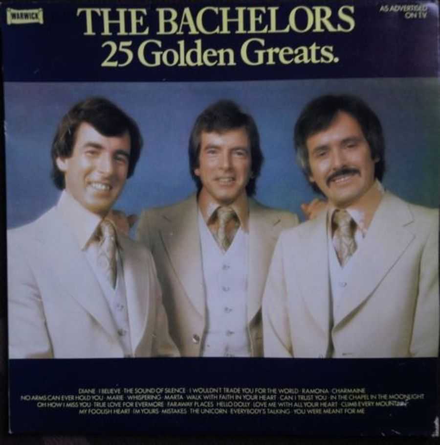 The Bachelors - 25 Golden Greats - Vinyl Record Album