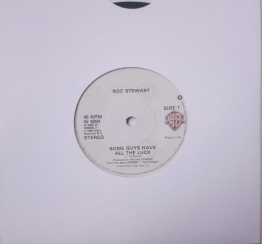 Rod Stewart - Some Guys Have All The Luck - Vinyl Record 7