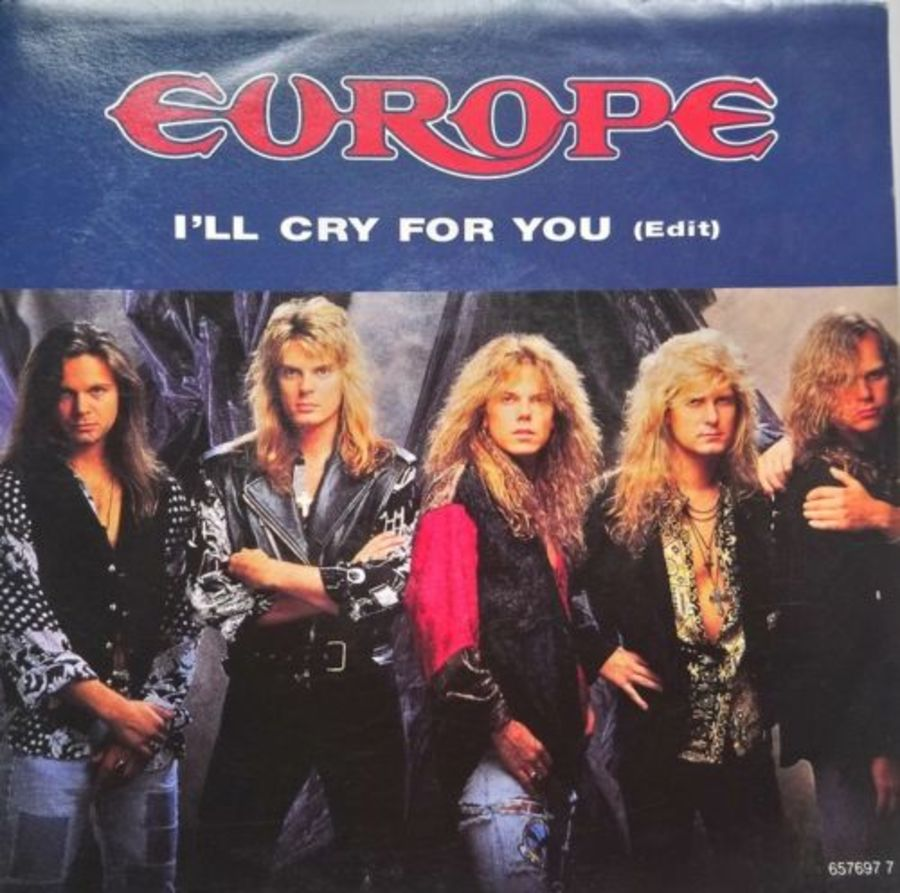 Europe - I'll Cry For You ( Edit ) - Vinyl Record 7
