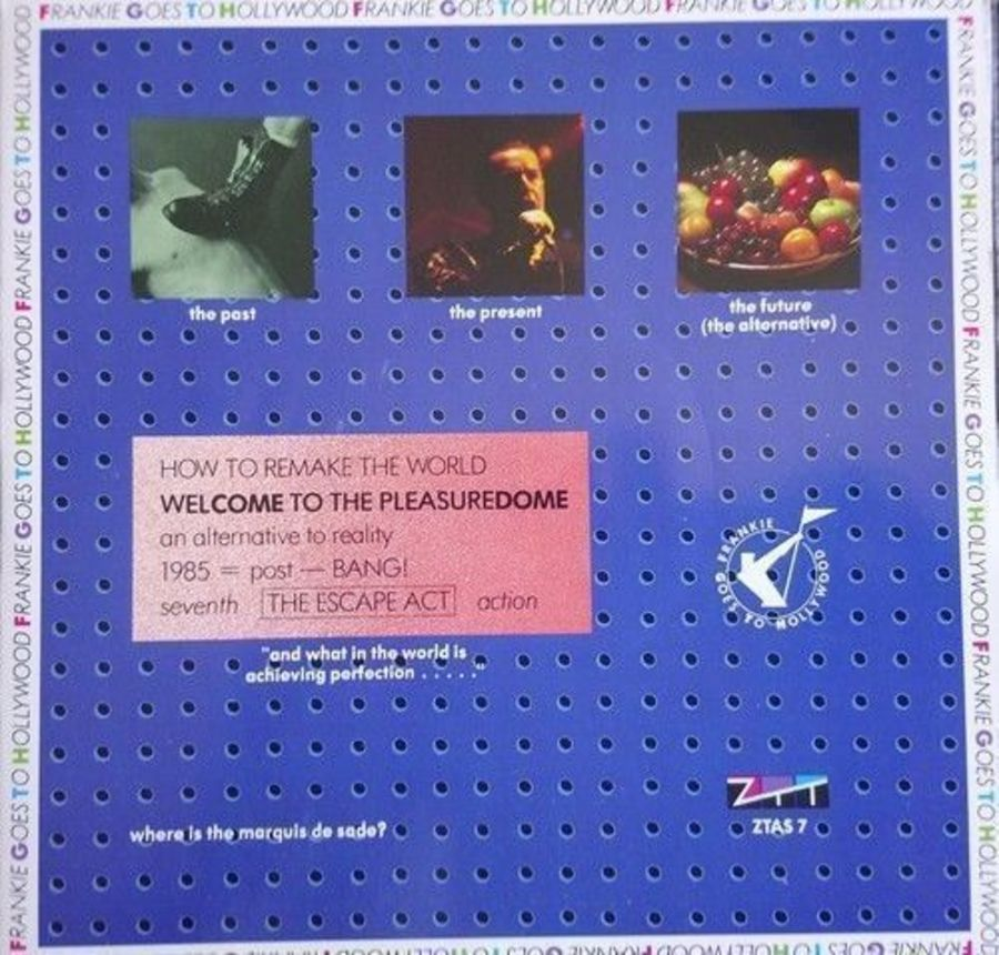 Frankie Goes To Hollywood - Welcome To The Pleasuredome - Vinyl Record 7