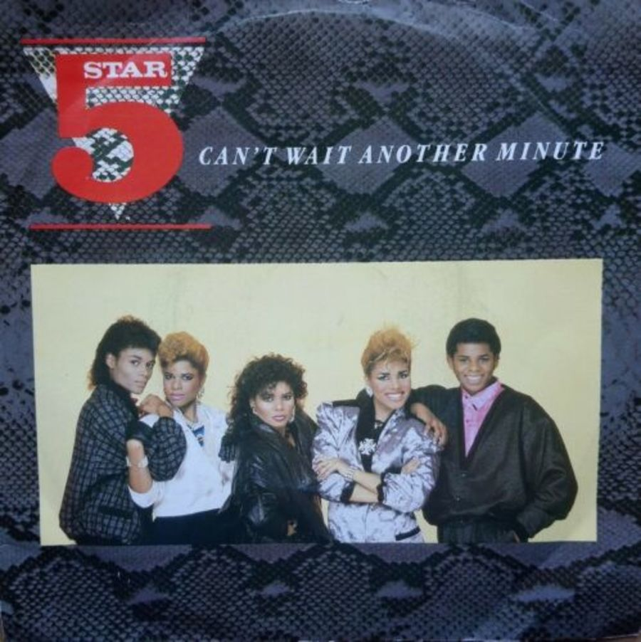 Five Star - Can't Wait Another Minute - Vinyl Record 7