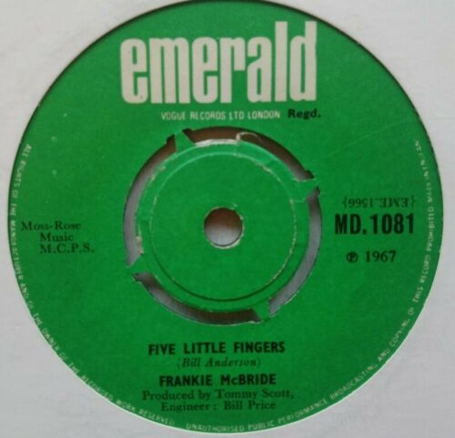 Frankie McBride - Five Little Fingers - 7