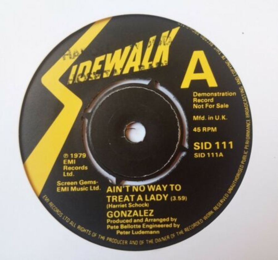 Gonzalez- Ain't No Way To Treat A Lady - Vinyl Record 7