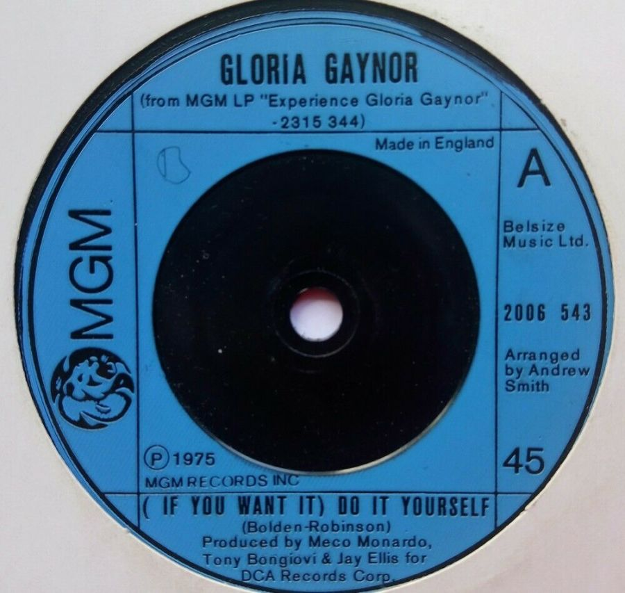 Gloria Gaynor - ( If You Want It ) Do It Yourself - Vinyl Record 7