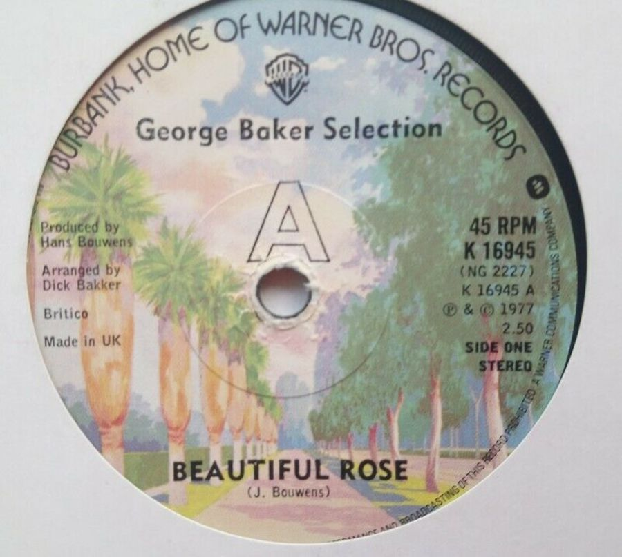 George Baker Selection - Beautiful Rose - Vinyl Record 7