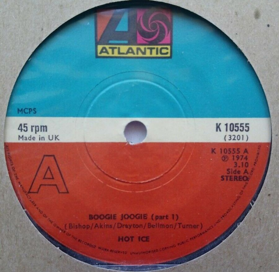 Hot Ice - Boogie Joogie - Vinyl Record 7