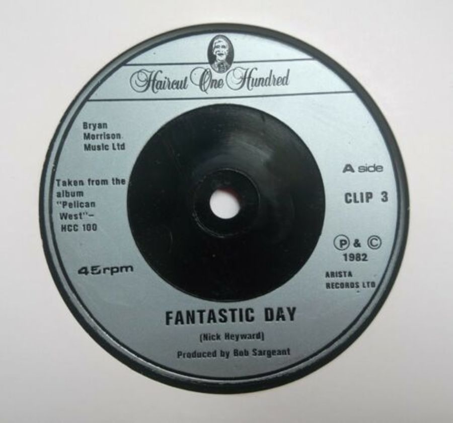 Haircut One Hundred - Fantastic Day - Vinyl Record 7