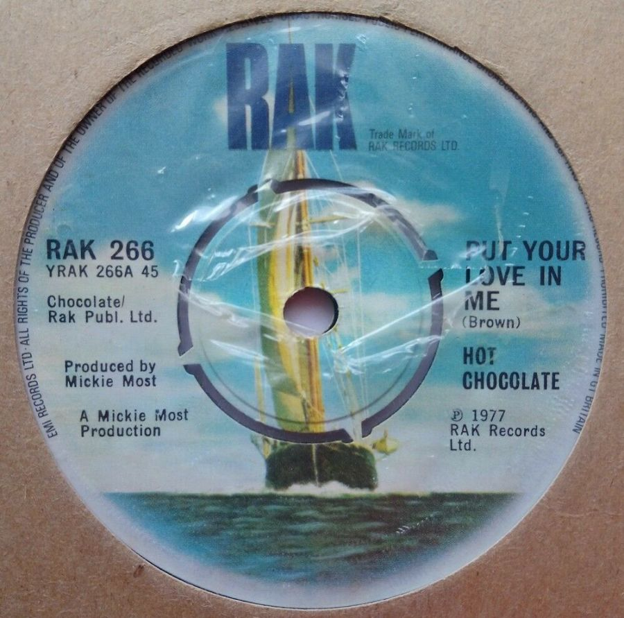 Hot Chocolate - Put Your Love In Me - Vinyl Record 7
