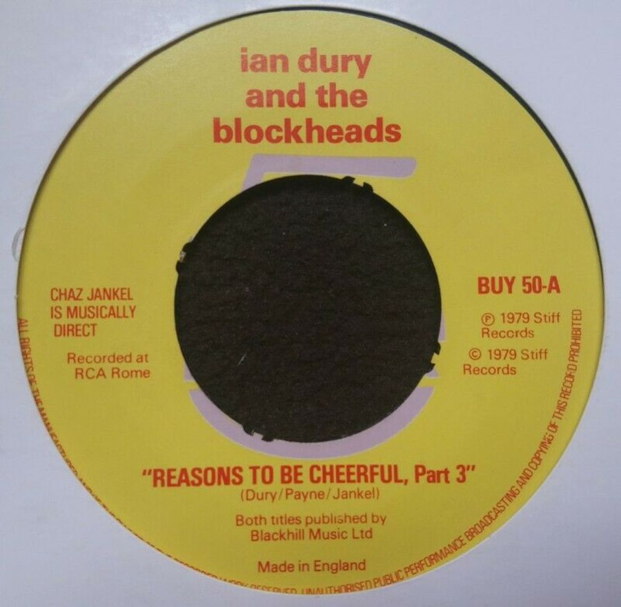 Ian Dury & The Blockheads - Reasons To Be Cheerful PT3 - 7