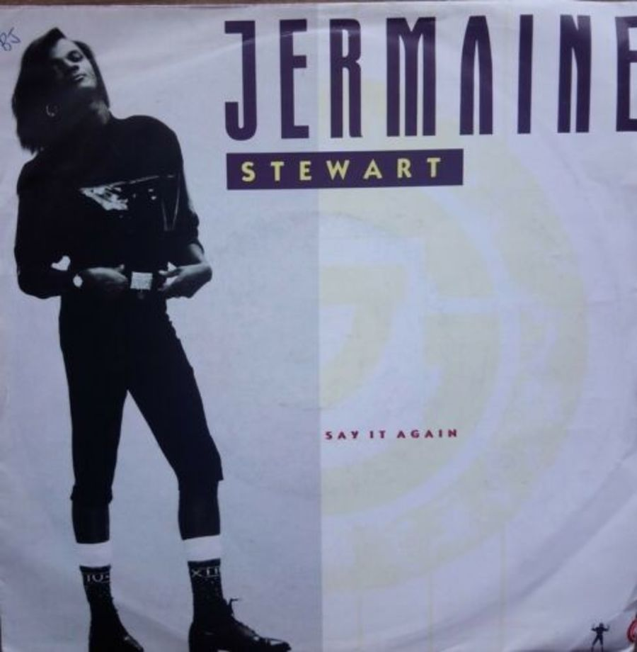Jermaine Stewart - Say It Again - Vinyl Record 7