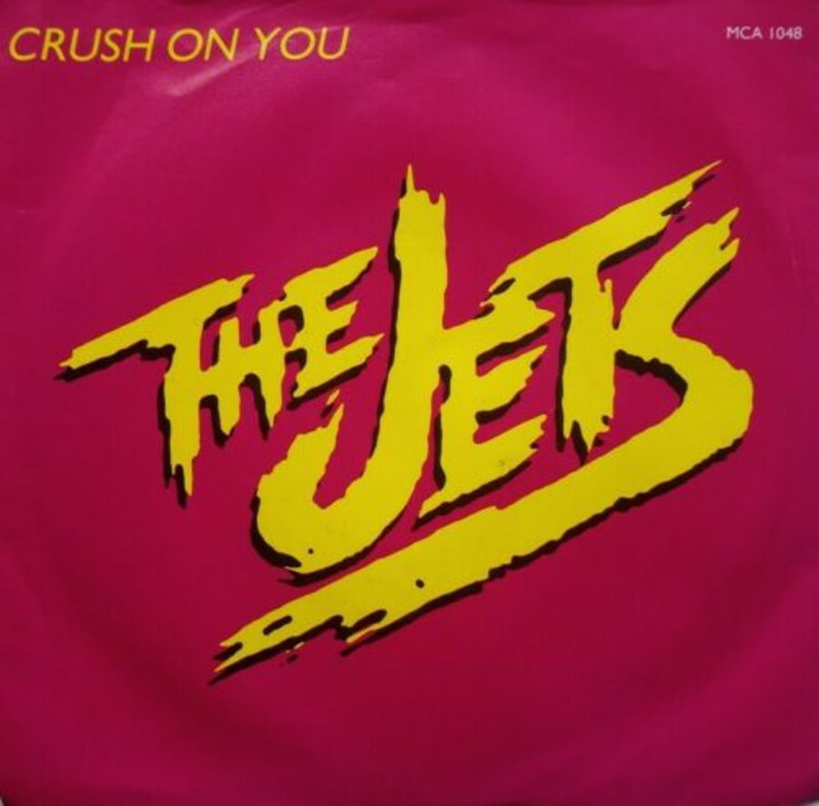 The Jets - Crush On You - Vinyl Record 7