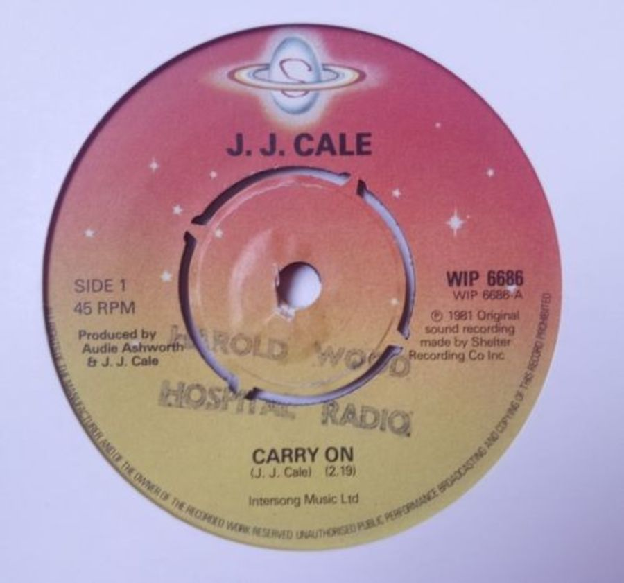 J.J Cale - Carry On - Vinyl Record 7