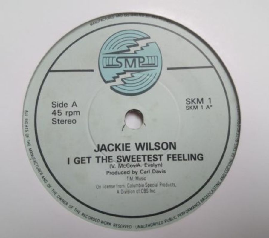 Jackie Wilson - I Get The Sweetest Feeling - Vinyl Record 7
