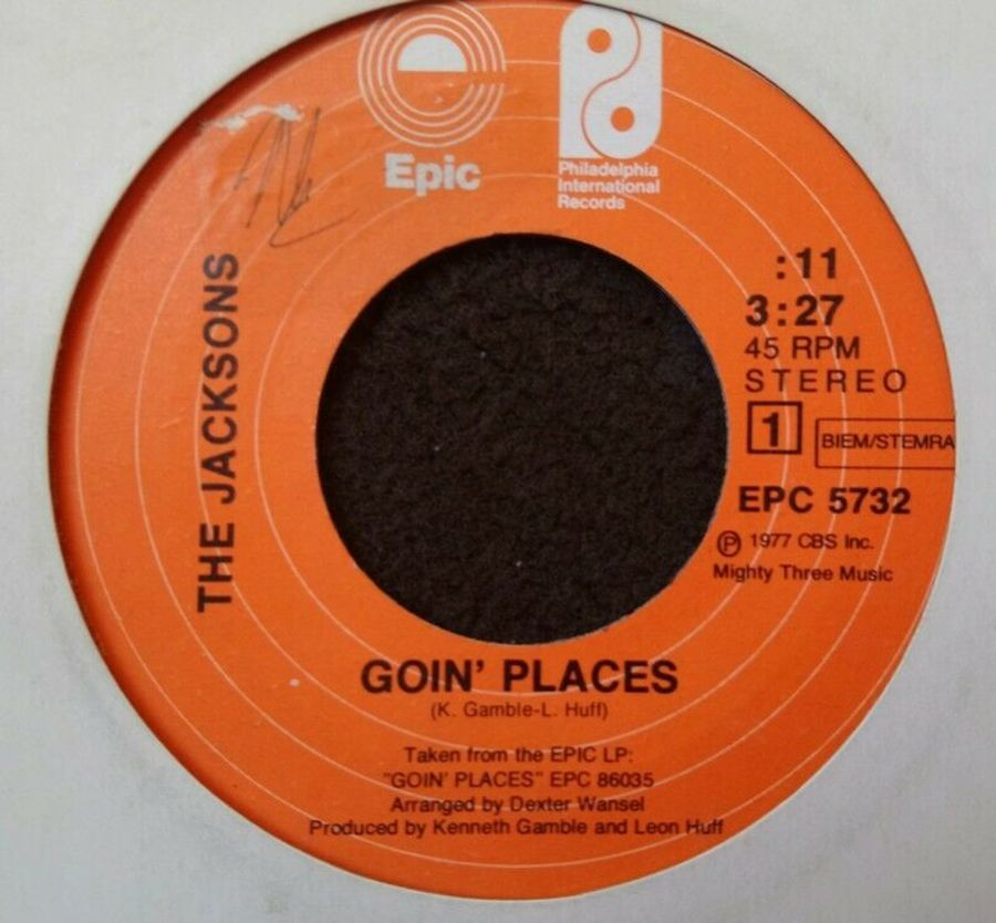 The Jacksons - Goin; Places - Vinyl Record 7