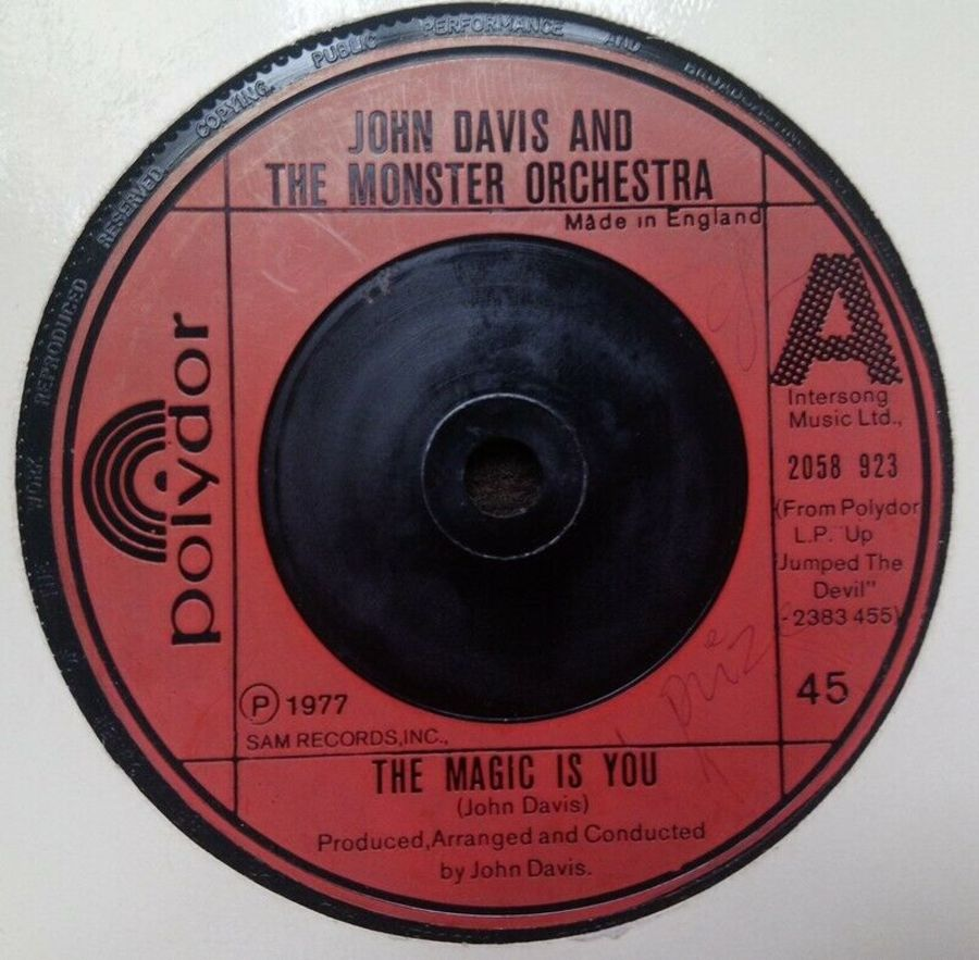 John Davis And The Monster Orchestra - The Magic Is You - 7