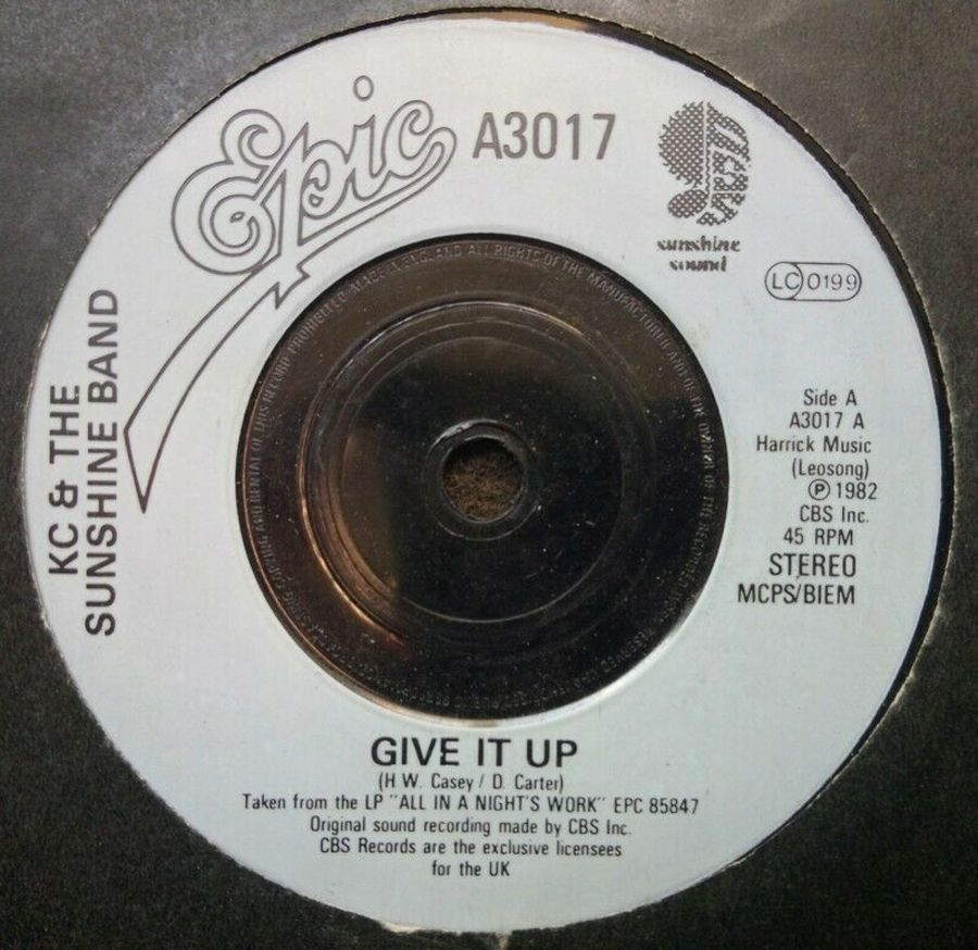 KC & The Sunshine Band - Give It Up - Vinyl Record 7