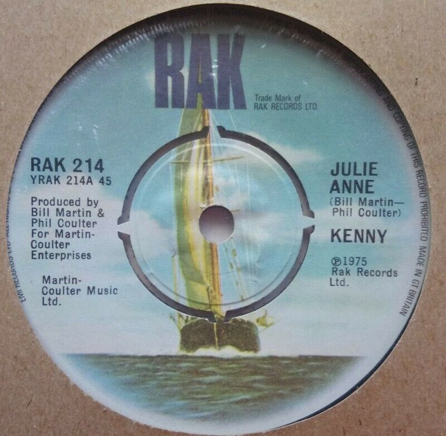 Kenny - Julie Anne - Vinyl Record 7