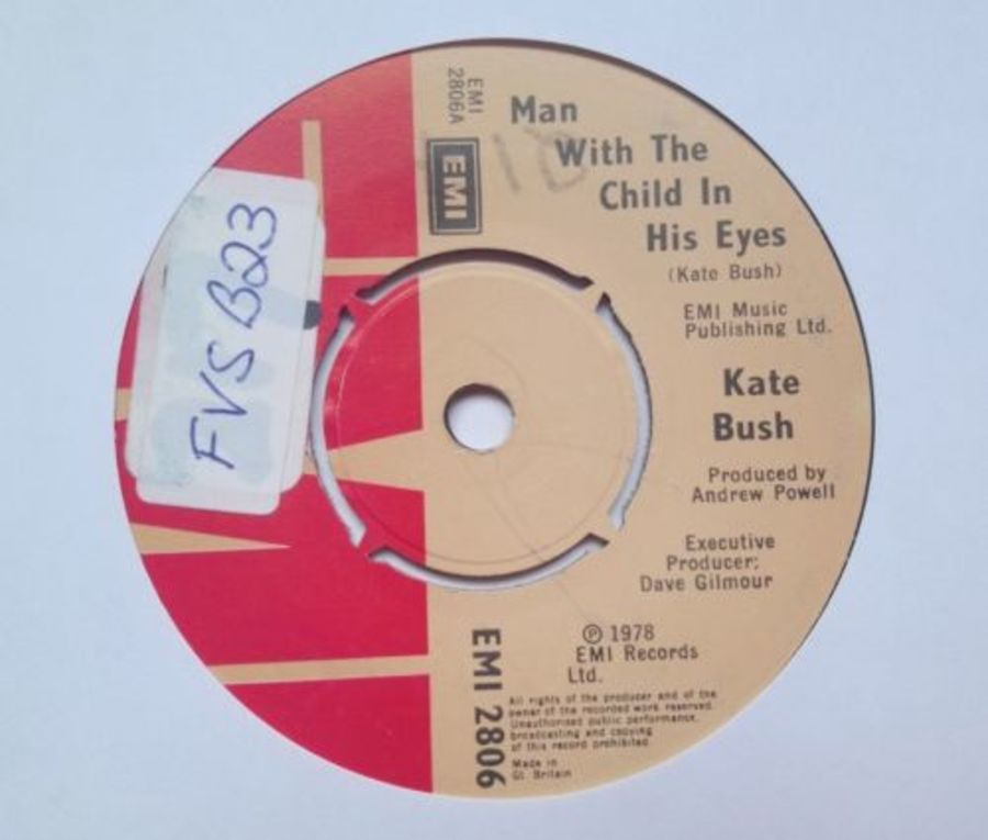Kate Bush - Man With The Child In His Eyes - Vinyl Record 7