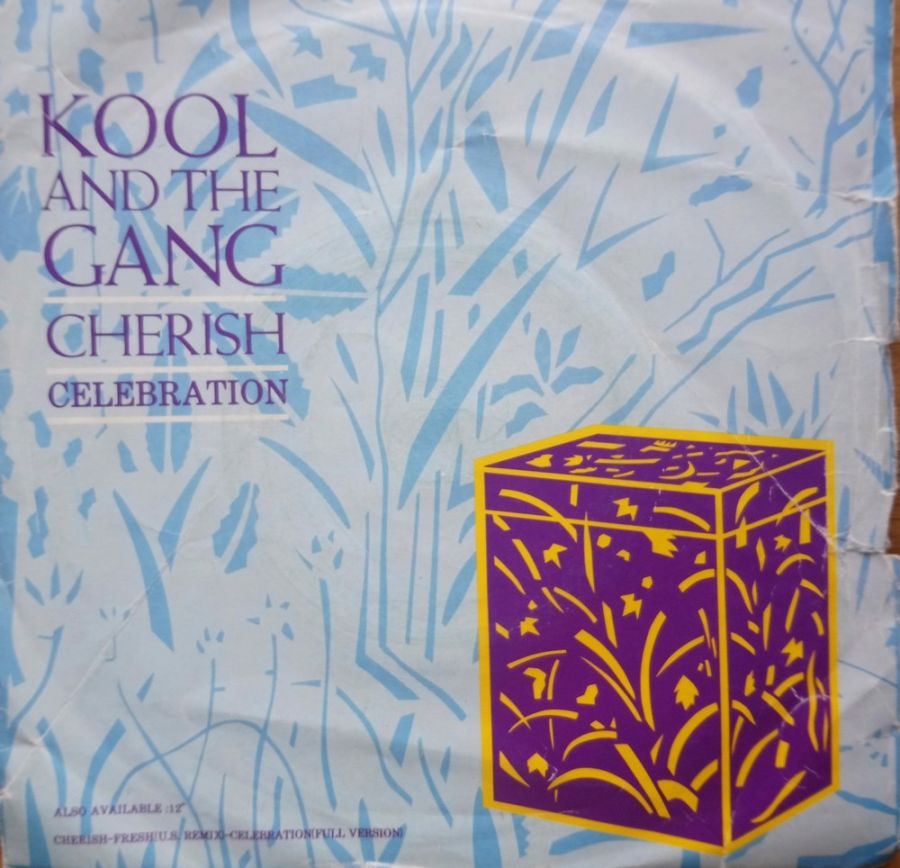 Kool & The Gang - Cherish - Vinyl Record 7