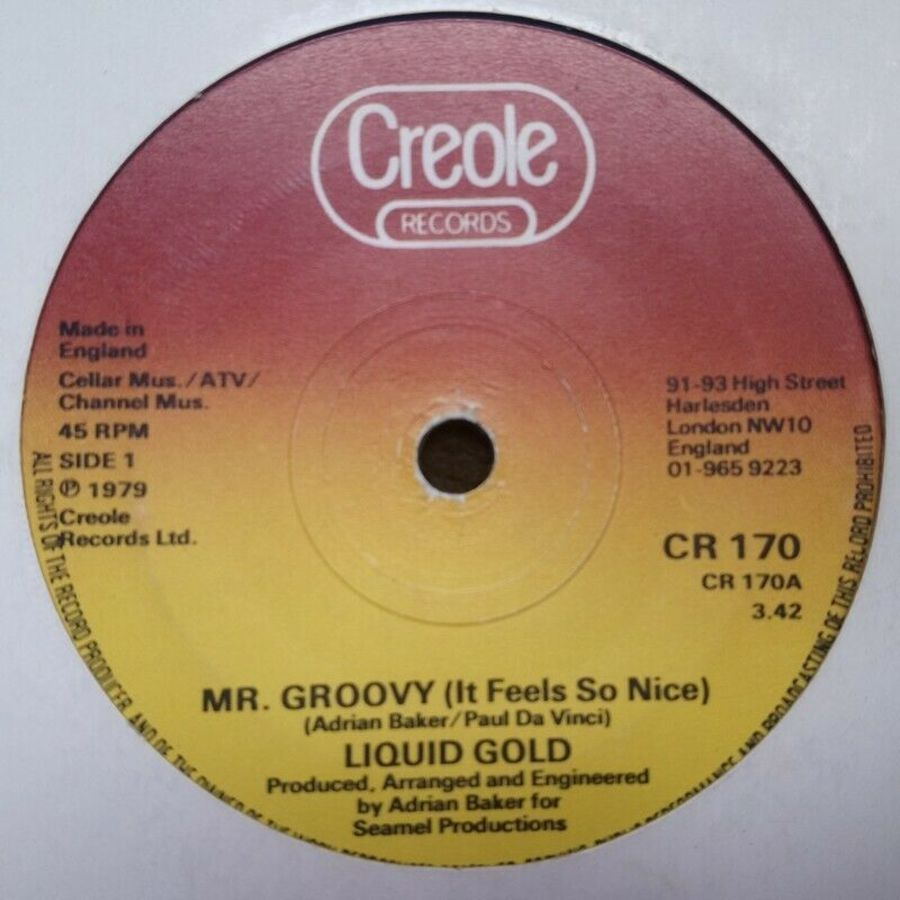 Liquid Gold - Mr Groovy ( It Feels So Nice ) - 7