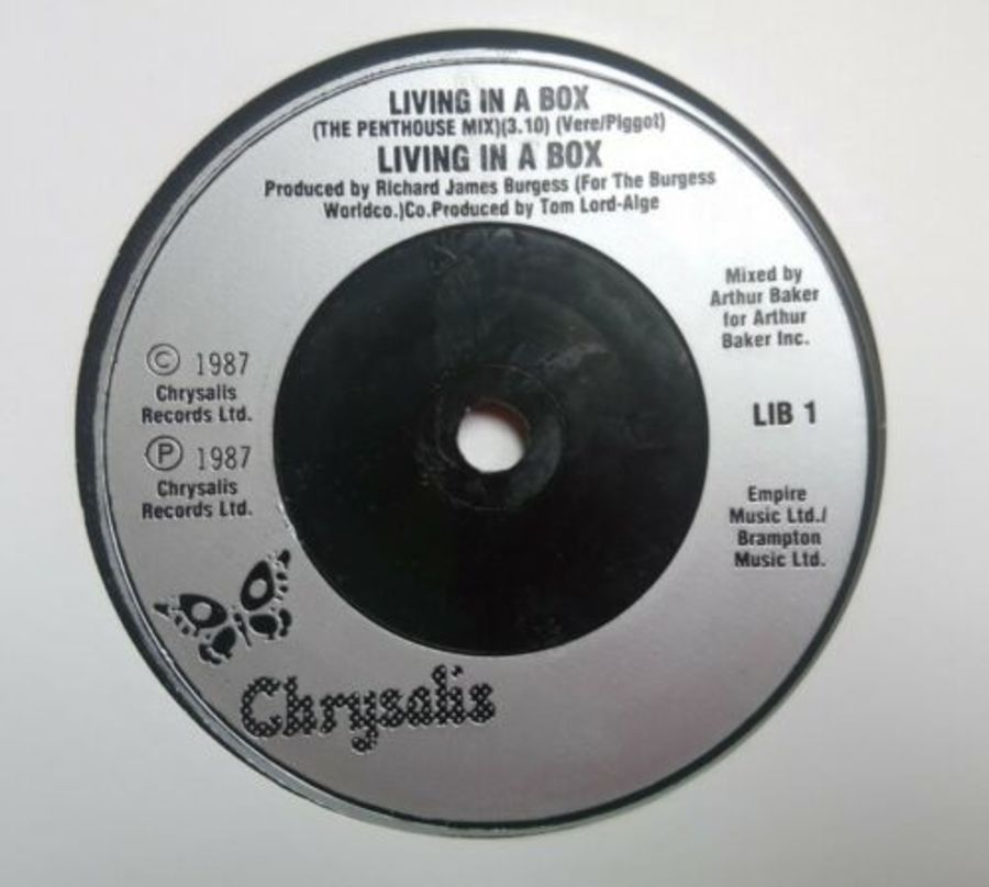 Living In A Box - Living In A Box - Vinyl Record 7
