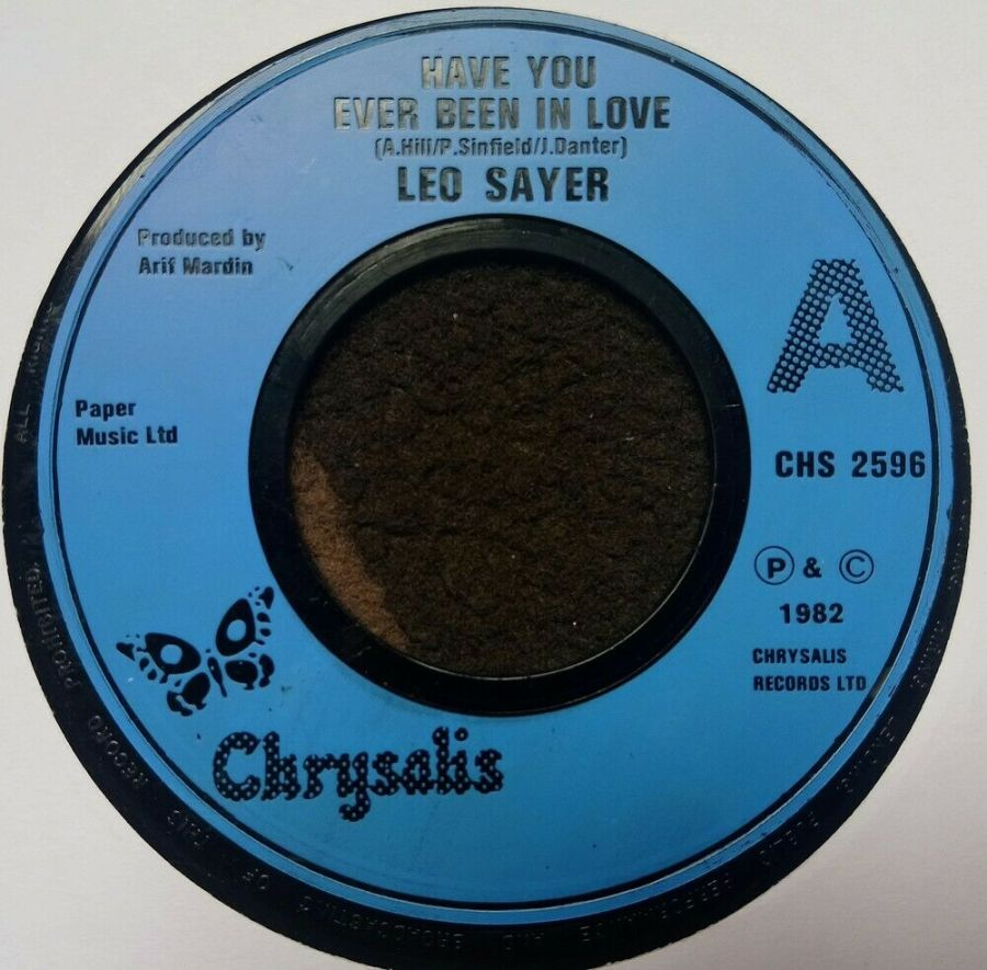 Leo Sayer - Have You Ever Been In Love - Vinyl Record 7