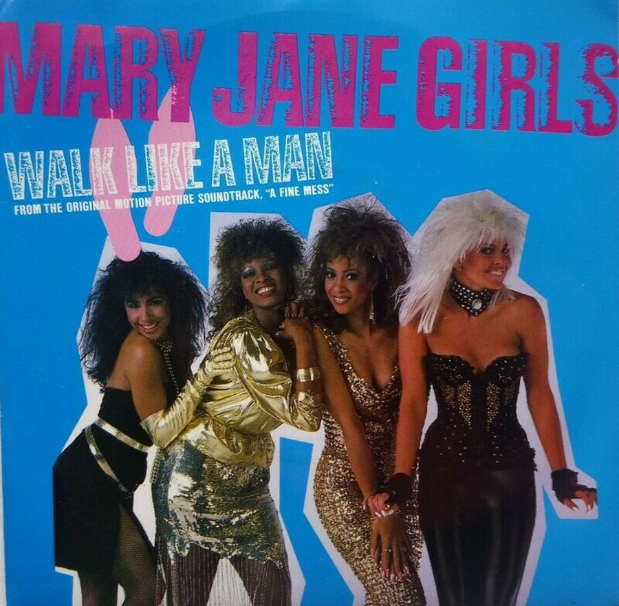 Mary Jane Girls - Walk Like A Man - Vinyl Record 7