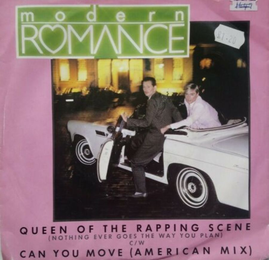 Modern Romance - Queen Of The Rapping Scene - Vinyl Record 7
