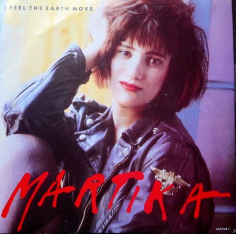 Martika - I Fell The Earth Move - Vinyl Record 7