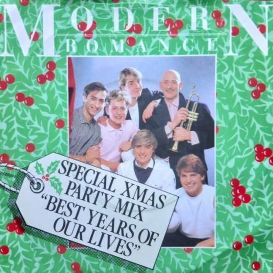 Modern Romance - Best Years Of Our Lives ( Party Mix ) - Vinyl Record 7