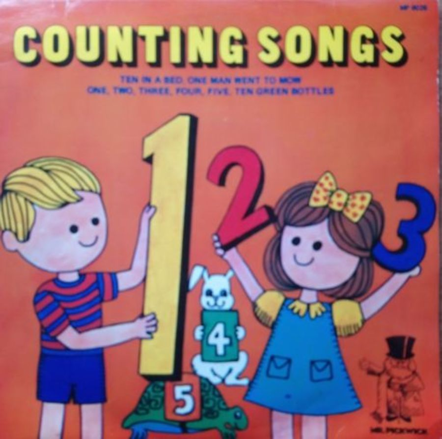 Mr Pickwick - Counting Songs - Vinyl Record 7