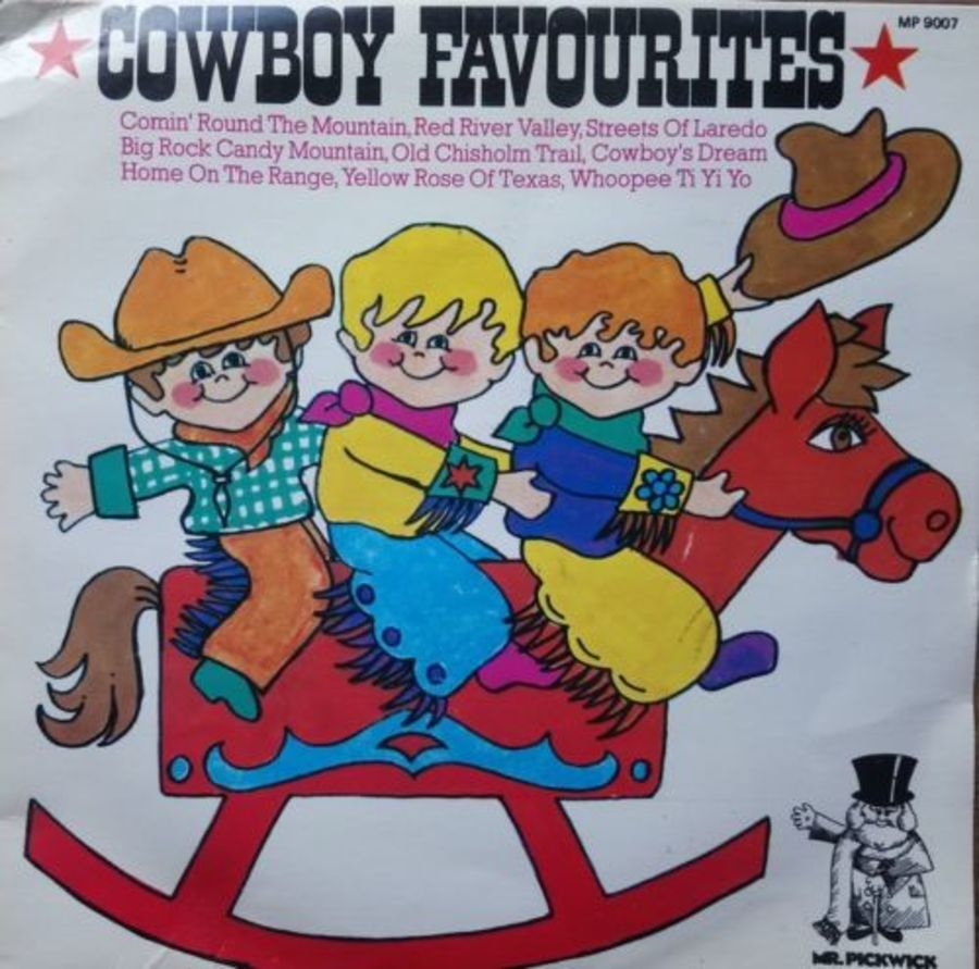 Mr Pickwick - Cowboy Favourites - Vinyl Record 7