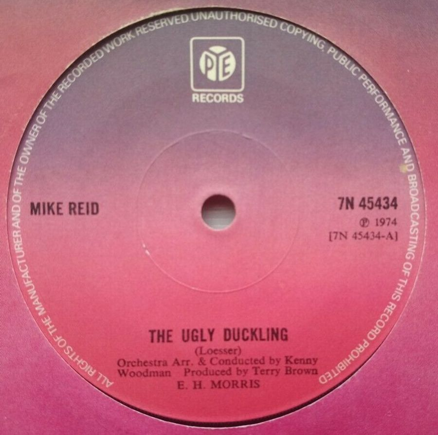 Mike Reid - The Ugly Duckling - Vinyl Record 7