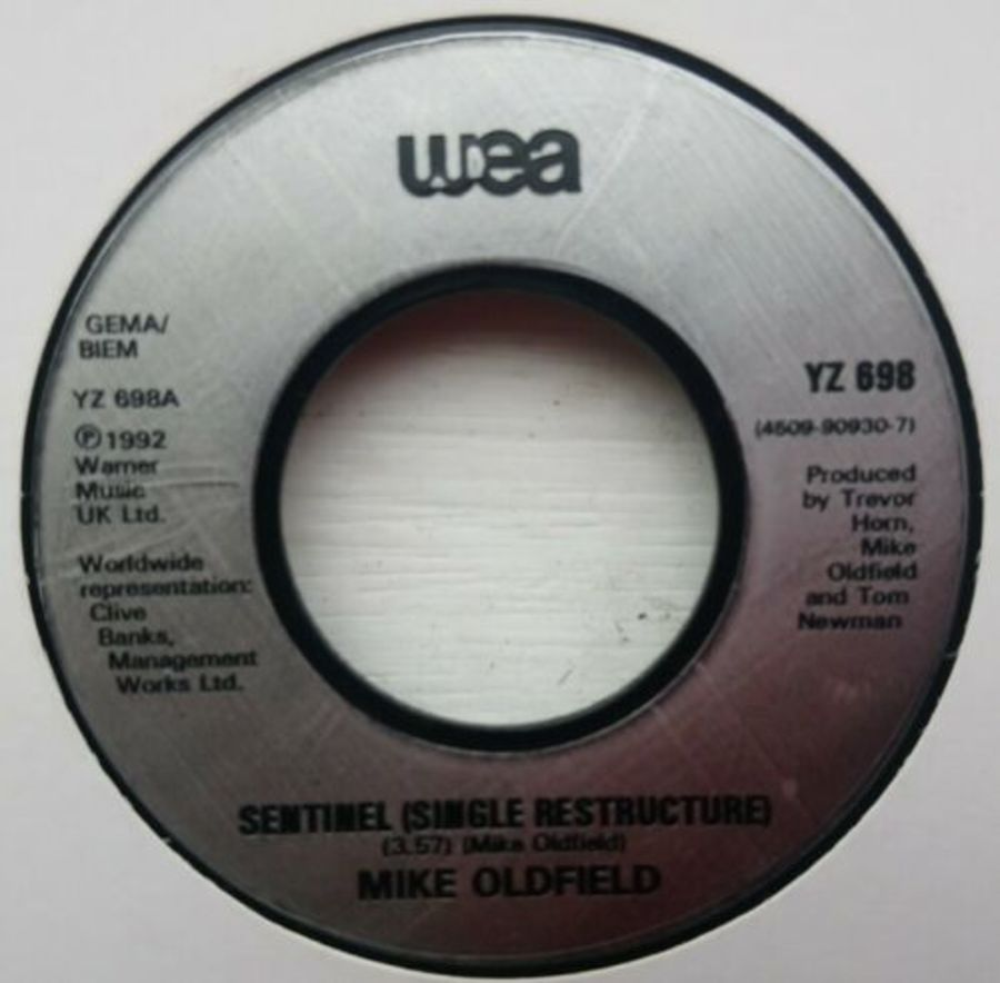 Mike Oldfield - Sentinel - Vinyl Record 7