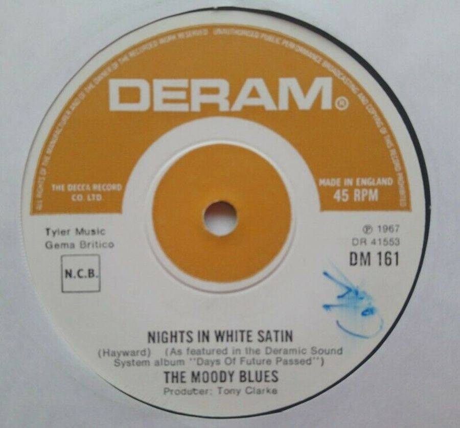 The Moody Blues - Nights In White Satin - Vinyl Record 7
