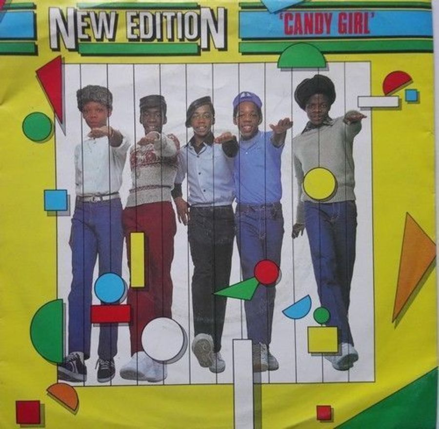 New Edition - Candy Girl - Vinyl Record 7