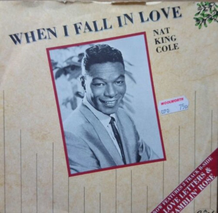 Nat King Cole - When I Fall In Love - Vinyl Record 7