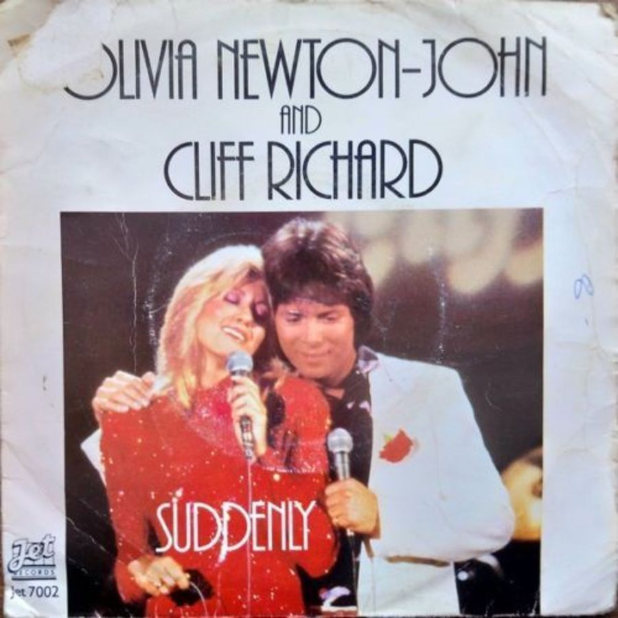 Olivia Newton John / Cliff Richard - Suddenly PC - Vinyl Record 7